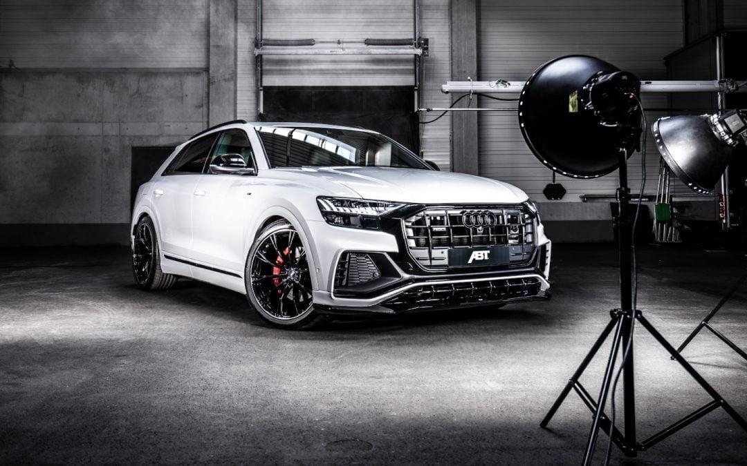ABT Audi Q8 50 TDI aero csomaggal és 330 lóerővel