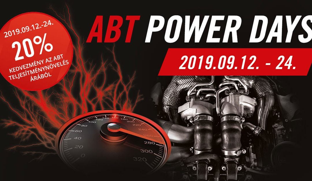Abt Power Days 2019