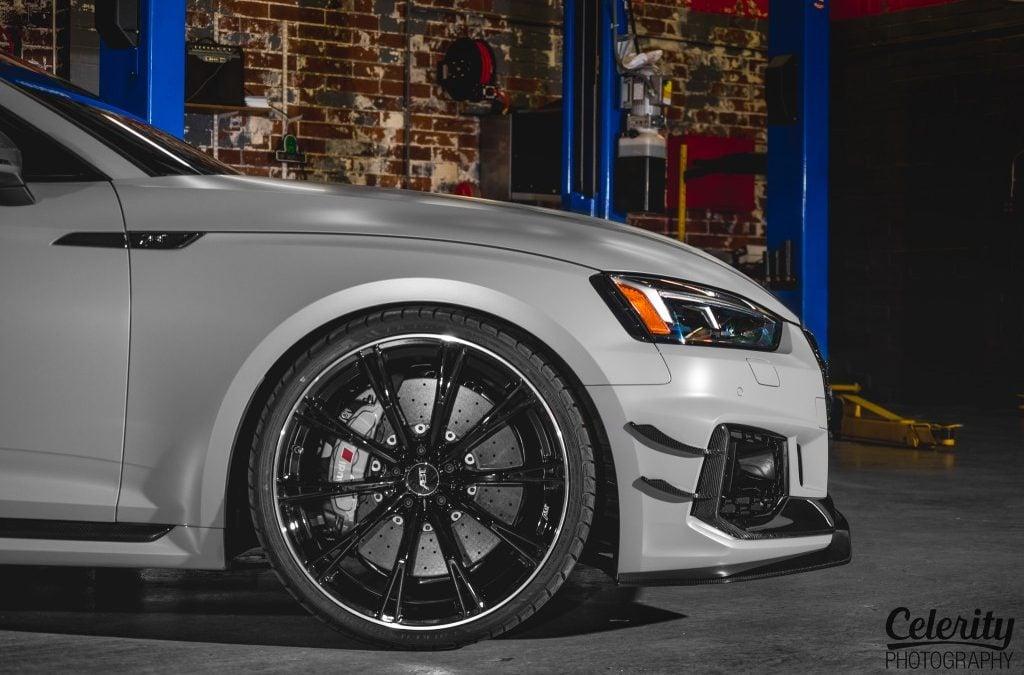 ABT Audi RS5-R és SQ5 széles kivitelben a 2018-as SEMA Show-n
